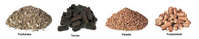 biokütus, biokütused, hakkpuit, turvas, pellet, pelleti küte, puitbrikett, brikett